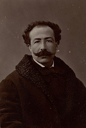 Ernest Christophe - Photograph of Christophe by Nadar
