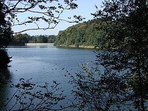 Eschbach Dam - The Eschbach Dam.