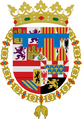 Escudo del Principe de Asturias 1528-1556 (lambel azur).png