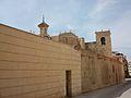 Església de santa Maria d'Alacant per darrere.jpg