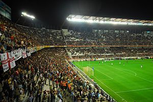 Estadio Ram%C3%B3n S%C3%A1nchez Pizju%C3%A1n Preferencia and Gol Sur-2007-04-05