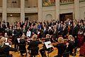 Estonian anthem. Conducting Mikk Murdvee.jpg
