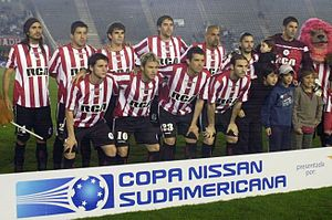 Copa Sudamericana - Juan Sebastián Verón captained Argentine club Estudiantes to the finals of the 2008 Copa Sudamericana.