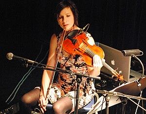 Eszter Balint - Eszter Balint at a concert, Innsbruck 2009