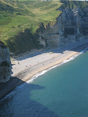 Beach of Le Tilleul, France