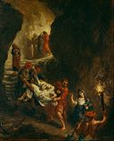 Eugène Delacroix - Christ Carried Down to the Tomb - Google Art Project.jpg