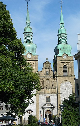 Eupen - St Nikolaus Church, Eupen