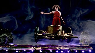 Medea - Olivia Sutherland triumphant in MacMillan Films Medea Staging (2016)
