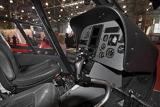 Eurocopter EC120 Colibri - Cockpit of an EC120 B Colibri