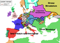 Europe map 1648 HUN.png