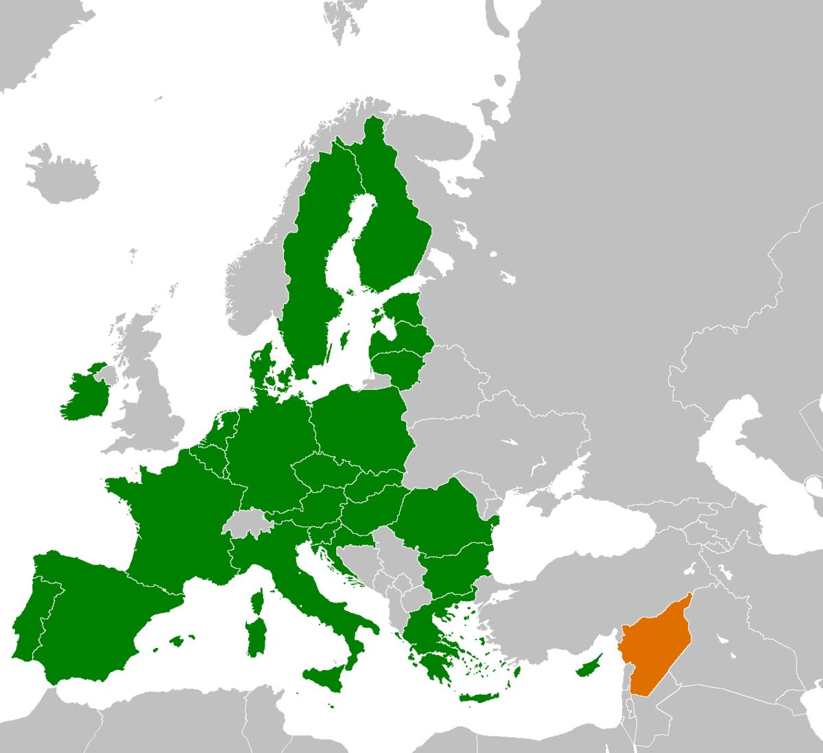 Syriaeuropean union relations wikipedia gumiabroncs Choice Image