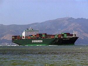 "Evergreen Marine - Evergreen ""Ever U"" type vessel."