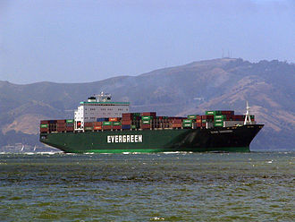 "Evergreen Marine - Evergreen ""Ever U"" type vessel."