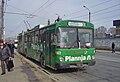 Ex-Basel trolleybus 922 in Brasov, on Strada 13 Decembrie in 2006.jpg