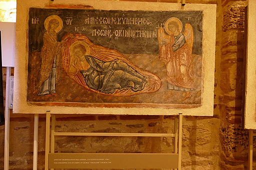 Exhibits in the church of St Paraskevi 01