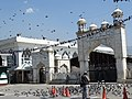 Exterior of Hazratbal Shrine - Srinagar - Jammu & Kashmir - India (26565372660).jpg