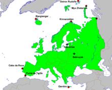 centro geografico de europa
