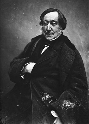 English: Photography of Gioacchino Rossini by ...