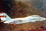 F-14 Tomcat of Fighter Squadron One (VF-1) in flight.jpg