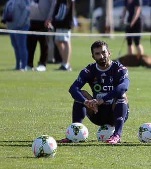 Fahid Ben Khalfallah - Fahid Ben Khalfhallah training for Melbourne Victory, May 2015