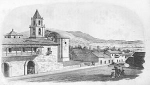 Huanta - View to the South from Huanta, ca. 1854