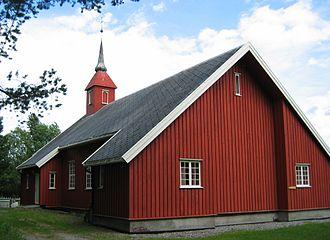 Fagerhaug Church - Image: Fagerhaug
