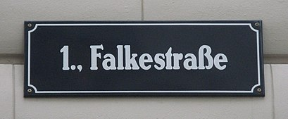 How to get to Falkestraße with public transit - About the place