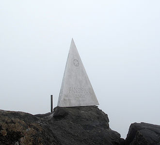 Fansipan - Monument at summit of Fansipan
