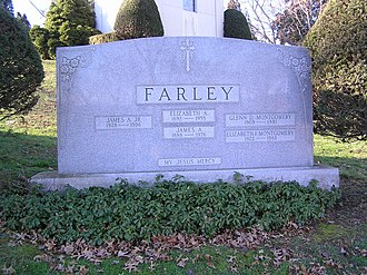 James Farley - Farley's grave