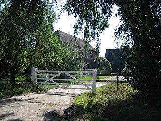 Walter of Bibbesworth - Bibbsworth Hall: the farmhouse (built after Walter's time)