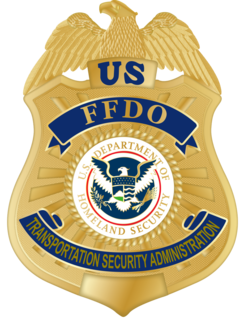 Federal Flight Deck Officer program run by the Federal Air Marshal Service of the United States of America