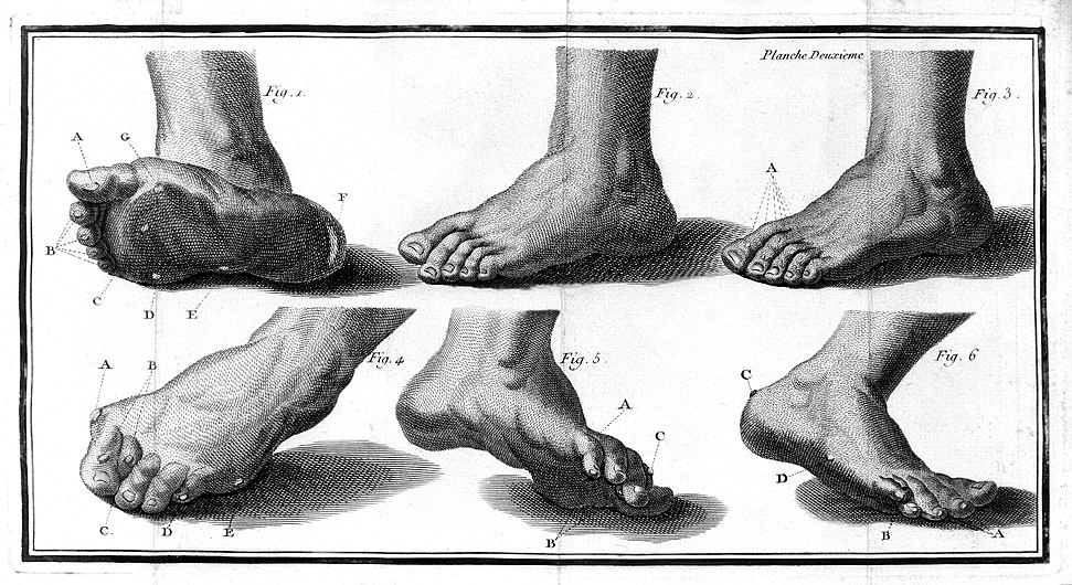 Feet from La Forest, L'art de soigner les pieds. Wellcome L0013757.jpg