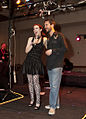 Felicia Day and Wil Wheaton - Phoenix Comicon Geek Prom 2010.jpg