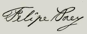 Felipe Poey - Image: Felipe Poey signature