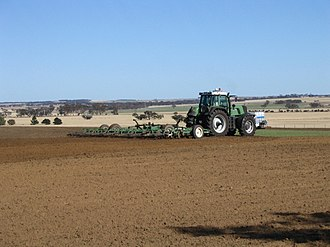 Tillage - Cultivating after an early rain