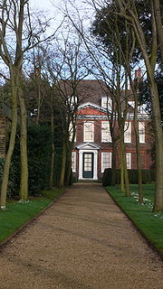 17th-century house with walled garden