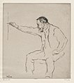 Ferdinand Hodler at the Easel MET DP876256.jpg