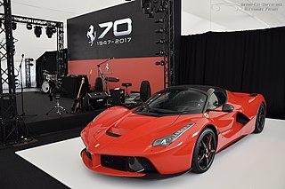 Världens dyraste bilar - Ferrari LaFerrari Aperta