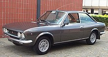 Fiat 131 Super Mirafiori - this is exactly like my first car ...