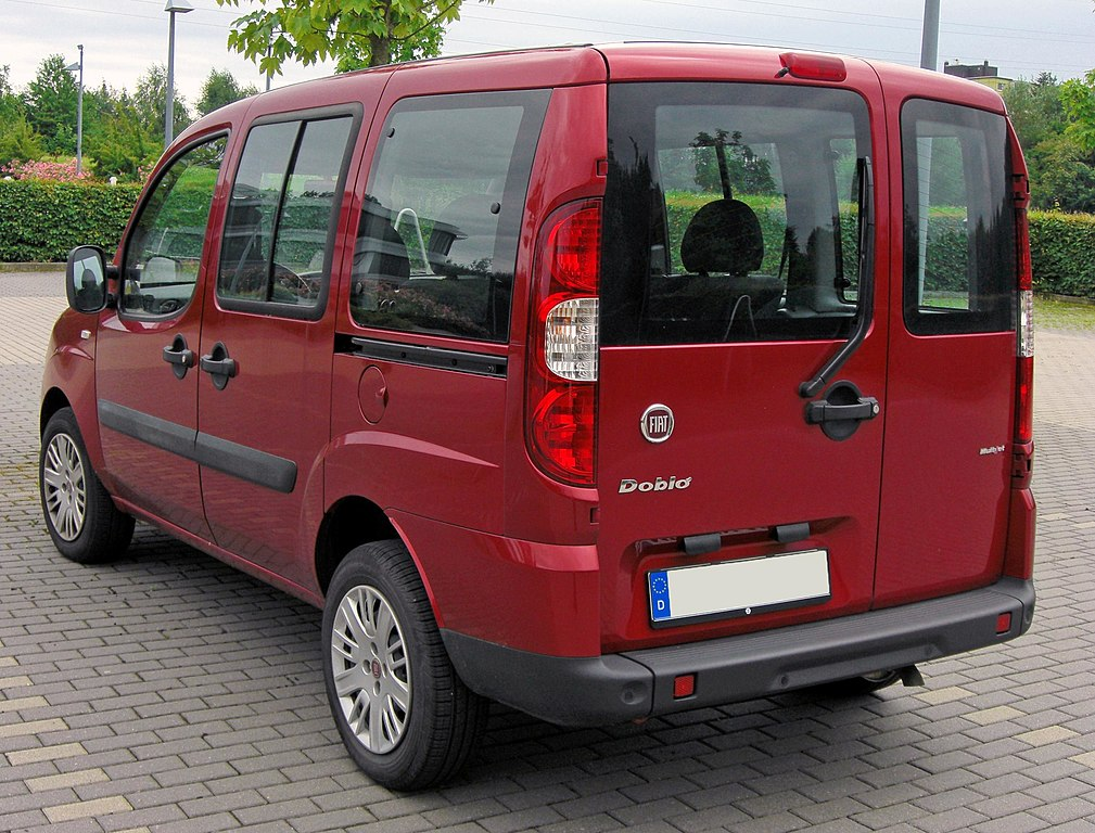 file fiat doblo facelift 20090712 rear jpg wikimedia commons. Black Bedroom Furniture Sets. Home Design Ideas