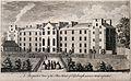 Figures observing the Poor House, Edinburgh. Line engraving Wellcome V0012605.jpg