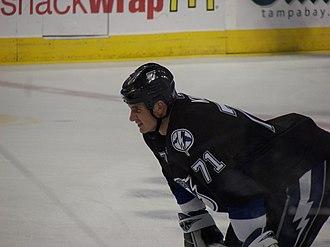 Filip Kuba - Kuba with the Tampa Bay Lightning.
