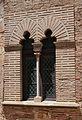 Finestra bífora, pati de la cisterna del palau ducal, Gandia.JPG