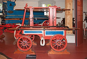 Richard Newsham - Fire engine manufactured by Newsham and Ragg, 1780