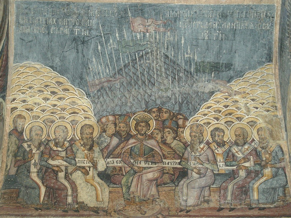 First Council of Nicea-stavropoleos church