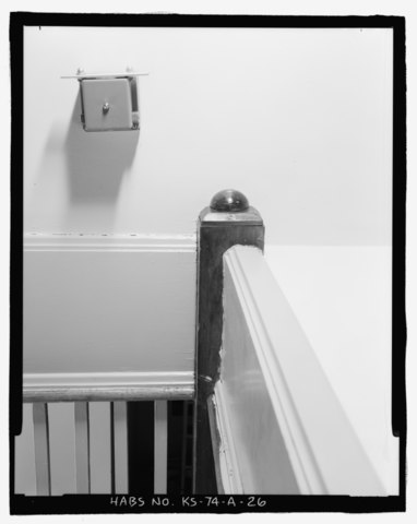 File First Floor Staircase Detail Of Newel Post Base