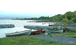 Fishing Boats on Inchiquin, Lough Corrib.jpg