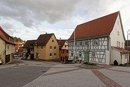 Rathausplatz in Weissach