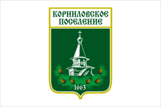 Флаг Корниловского сельского поселения (Томская область)