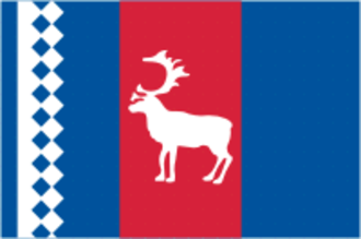 Tazovsky District - Image: Flag of Tazovsky rayon (Yamal Nenetsia)